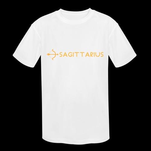 Sagittarius - Kids' Moisture Wicking Performance T-Shirt