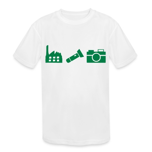 DCUE_Icons_Small - Kids' Moisture Wicking Performance T-Shirt