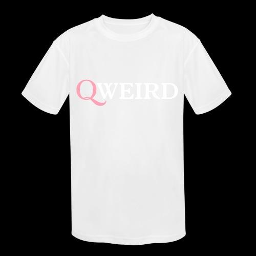 (Q)weird - Kids' Moisture Wicking Performance T-Shirt