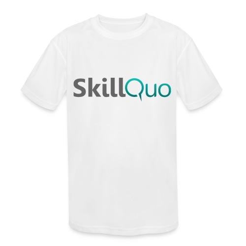 SkillQuo - Kids' Moisture Wicking Performance T-Shirt