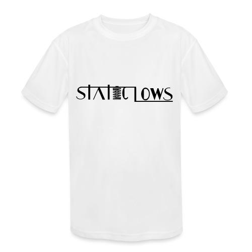 Staticlows - Kids' Moisture Wicking Performance T-Shirt