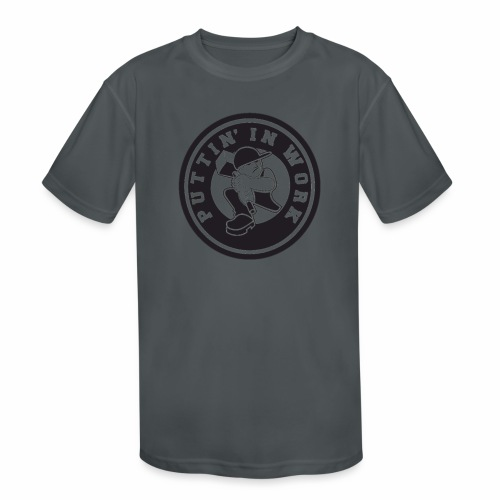 Puttin' In Work Apparel - Kids' Moisture Wicking Performance T-Shirt