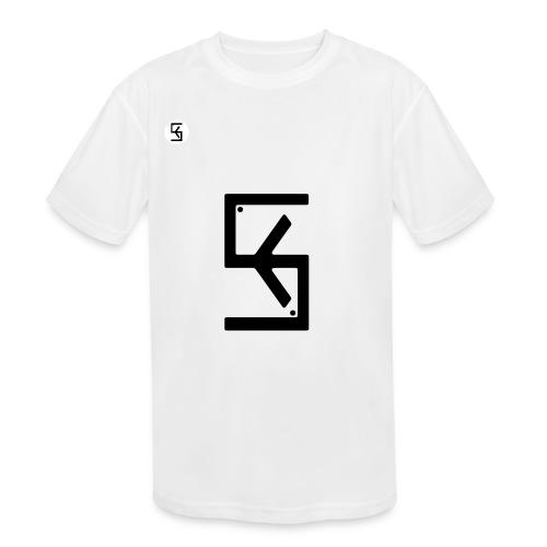 Soft Kore Logo Black - Kids' Moisture Wicking Performance T-Shirt
