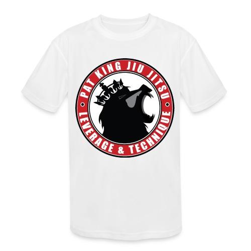 PK Merch grey22 - Kids' Moisture Wicking Performance T-Shirt