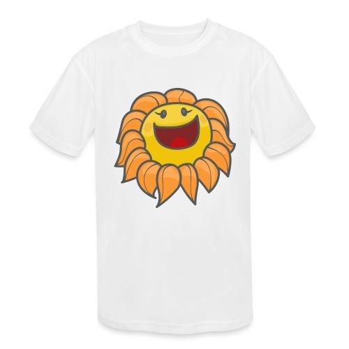 Happy sunflower - Kids' Moisture Wicking Performance T-Shirt