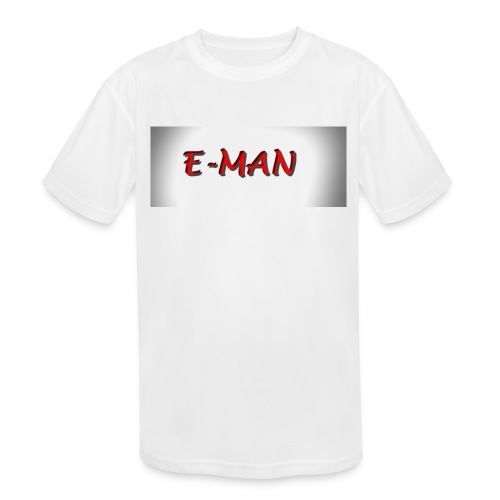 E-MAN - Kids' Moisture Wicking Performance T-Shirt