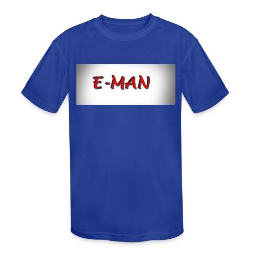 E-MAN - Kids' Moisture Wicking Performance T-Shirt