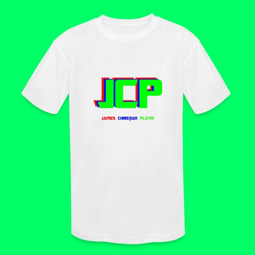 James Christian Plays! Original Set - Kids' Moisture Wicking Performance T-Shirt