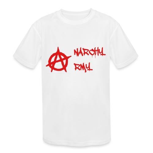 Anarchy Army LOGO - Kids' Moisture Wicking Performance T-Shirt