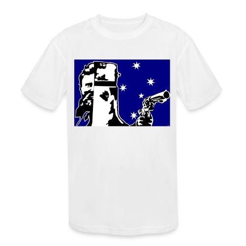 NED KELLY - Kids' Moisture Wicking Performance T-Shirt