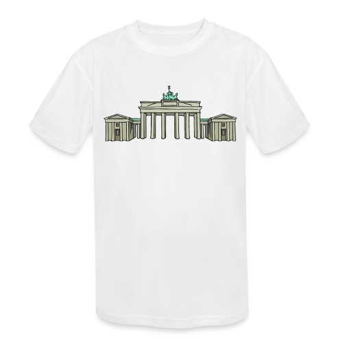 Brandenburg Gate Berlin - Kids' Moisture Wicking Performance T-Shirt