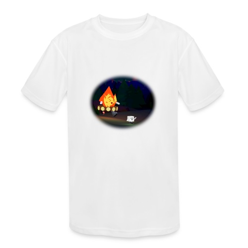 'Round the Campfire - Kids' Moisture Wicking Performance T-Shirt