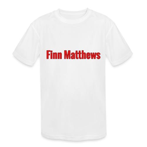 FM Logo - Kids' Moisture Wicking Performance T-Shirt