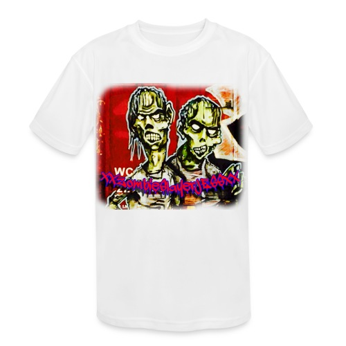 xxZombieSlayerJESSxx - Kids' Moisture Wicking Performance T-Shirt