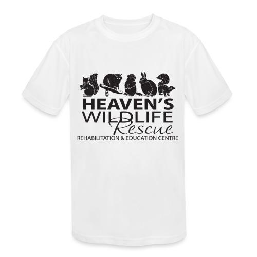 Heaven's Wildlife Rescue - Kids' Moisture Wicking Performance T-Shirt