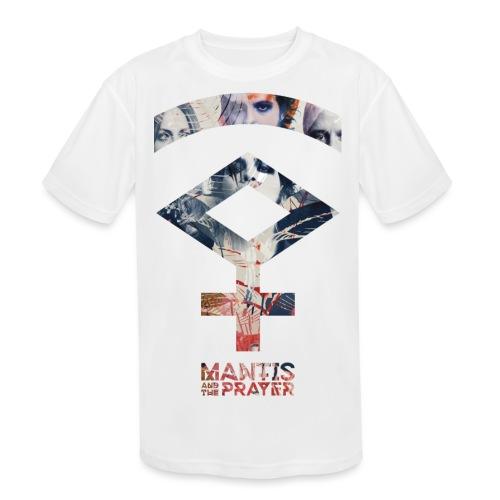 Mantis and the Prayer- Symbol Design - Kids' Moisture Wicking Performance T-Shirt