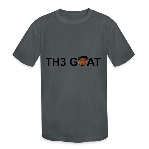 The goat cartoon - Kids' Moisture Wicking Performance T-Shirt