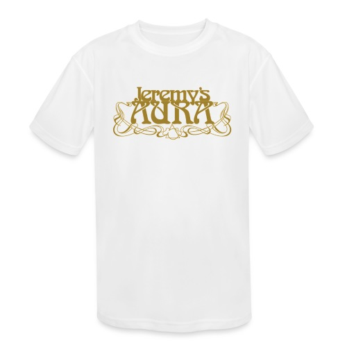 Jeremy's Art Nouveau Logo - Kids' Moisture Wicking Performance T-Shirt