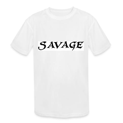 savage - Kid's Moisture Wicking Performance T-Shirt