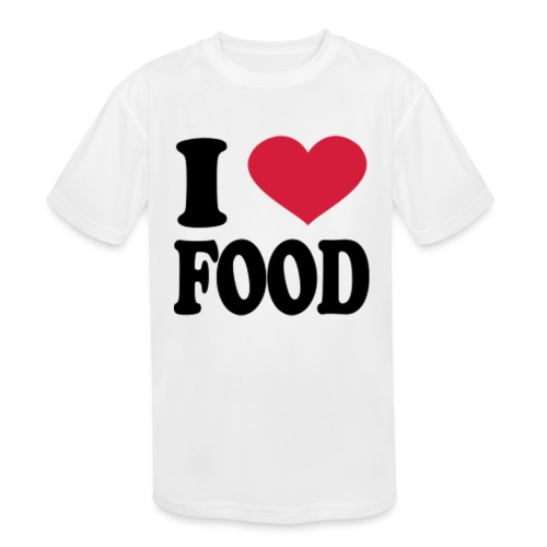 i love food - Kids' Moisture Wicking Performance T-Shirt