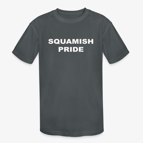 SQUAMISH PRIDE - Kids' Moisture Wicking Performance T-Shirt