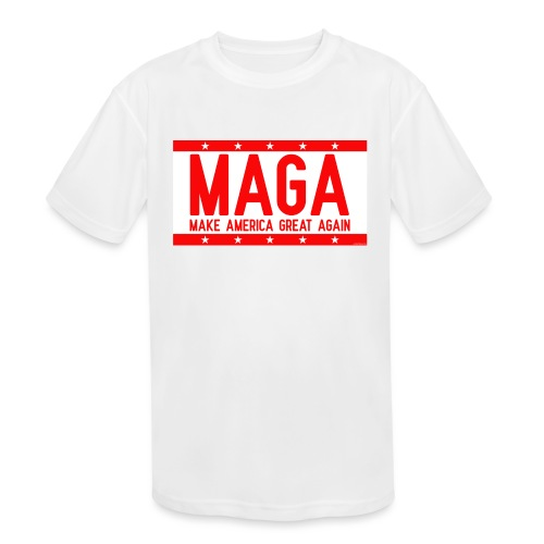 MAGA - Kids' Moisture Wicking Performance T-Shirt