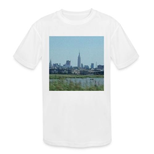 New York - Kids' Moisture Wicking Performance T-Shirt