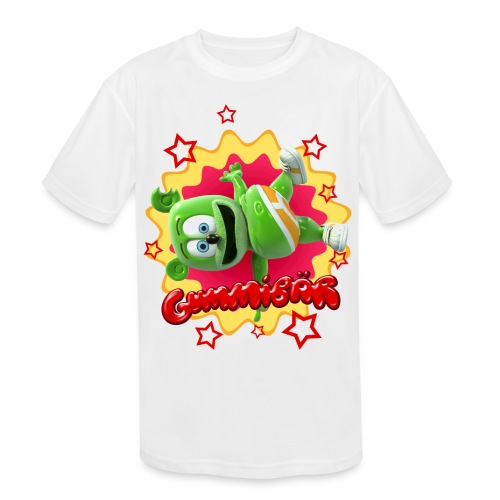 Gummibär Starburst - Kids' Moisture Wicking Performance T-Shirt