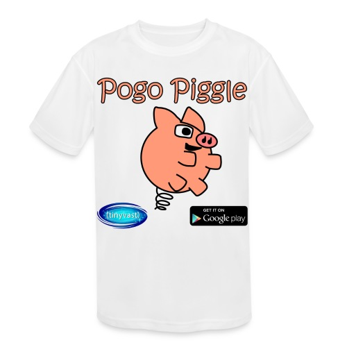 Pogo Piggle - Kids' Moisture Wicking Performance T-Shirt