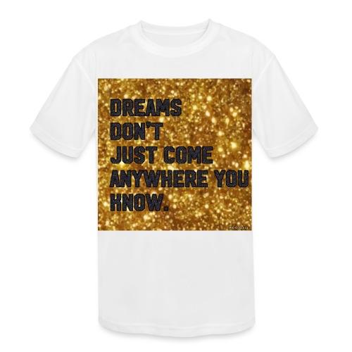 dreamy designs - Kids' Moisture Wicking Performance T-Shirt