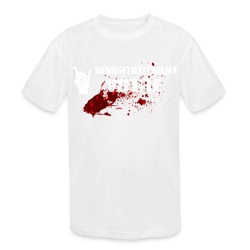 2017-LOGO-2-4000PX Long Sleeve Shirts - Kids' Moisture Wicking Performance T-Shirt