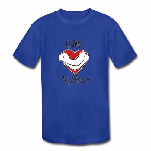 LOVE YOURSELF - Kids' Moisture Wicking Performance T-Shirt