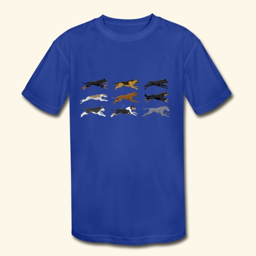 The Starting Nine - Kids' Moisture Wicking Performance T-Shirt