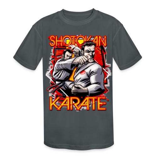 Shotokan Karate - Kids' Moisture Wicking Performance T-Shirt