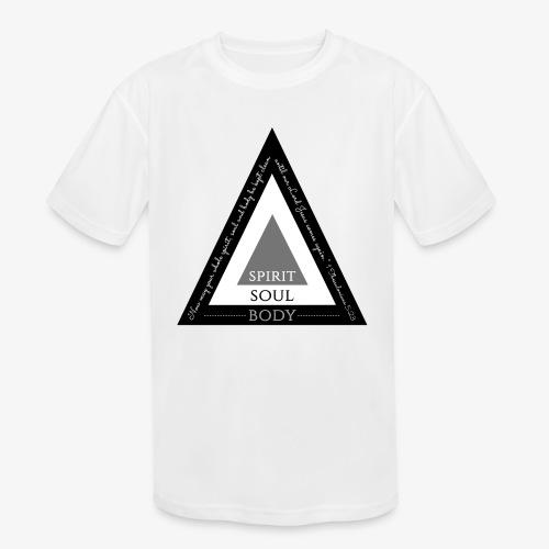Spirit Soul Body - Kids' Moisture Wicking Performance T-Shirt