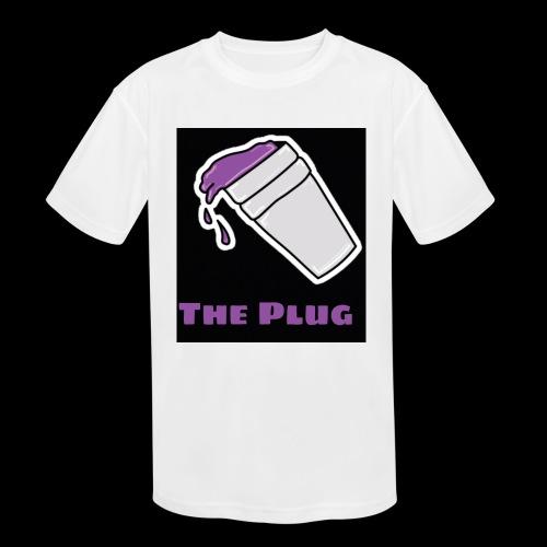 the Plug logo - Kids' Moisture Wicking Performance T-Shirt