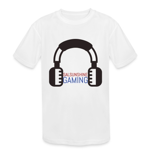 SALSUNSHINE GAMING LOGO - Kids' Moisture Wicking Performance T-Shirt