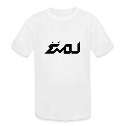 evol logo - Kids' Moisture Wicking Performance T-Shirt