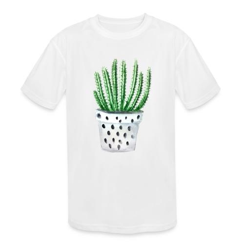 Cactus - Kids' Moisture Wicking Performance T-Shirt