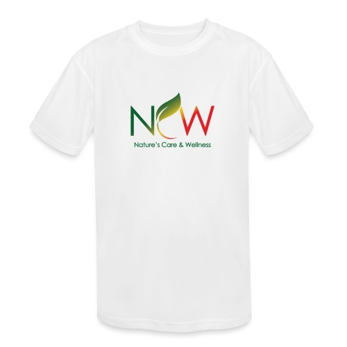 Ncw Big Logo - Kids' Moisture Wicking Performance T-Shirt