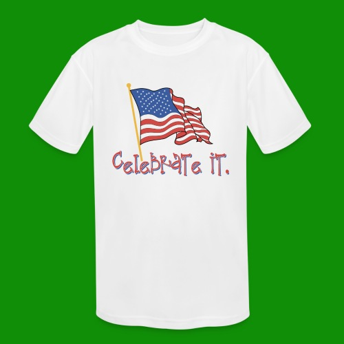 USA Celebrate It - Kids' Moisture Wicking Performance T-Shirt