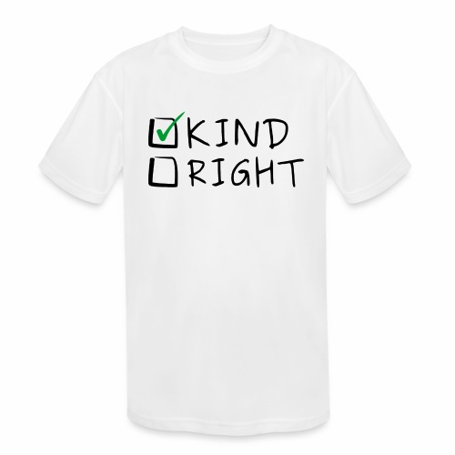 Choose Kind Anti-Bullying - Kids' Moisture Wicking Performance T-Shirt