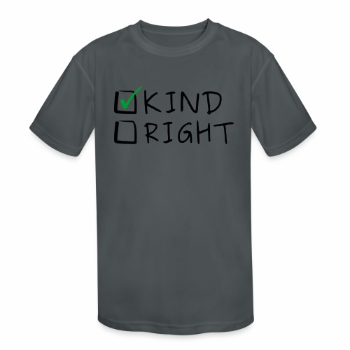 Choose Kind Anti-Bullying - Kids' Moisture Wicking Performance T-Shirt