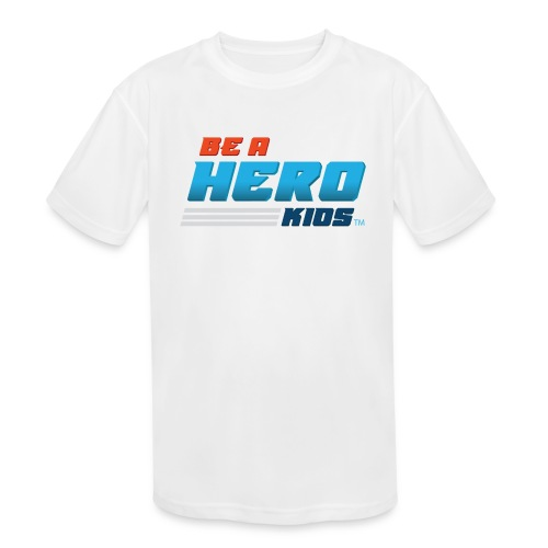 BHK secondary full color stylized TM - Kids' Moisture Wicking Performance T-Shirt