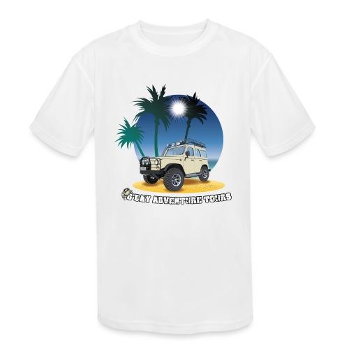 G'day Adventure Tours - Kids' Moisture Wicking Performance T-Shirt