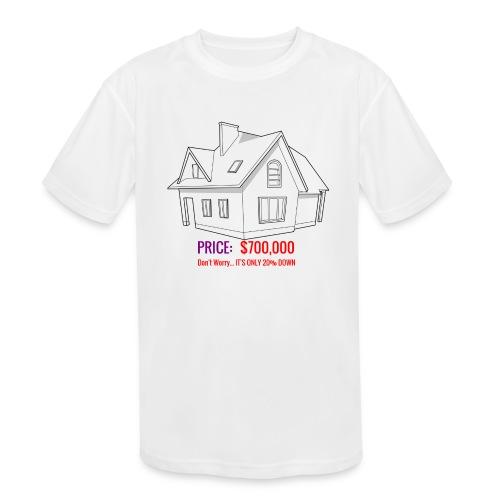 Fannie & Freddie Joke - Kids' Moisture Wicking Performance T-Shirt