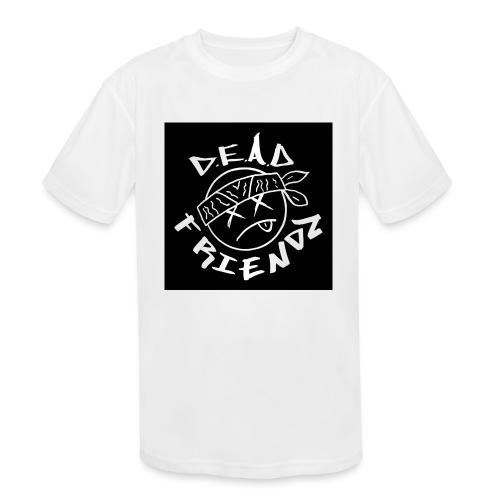 D.E.A.D FRIENDZ Records - Kids' Moisture Wicking Performance T-Shirt