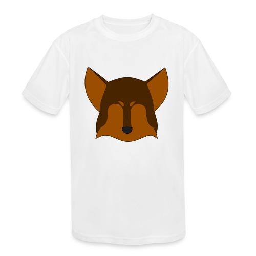 Simple Wolf Head - Kids' Moisture Wicking Performance T-Shirt