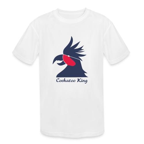 Cockatoo Logo - Kids' Moisture Wicking Performance T-Shirt