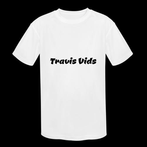 White shirt - Kids' Moisture Wicking Performance T-Shirt